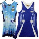 Netball body suits, A1 Line dresses, A1 Apparel